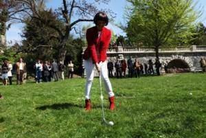 Jouer à la jeunesse comme au golf